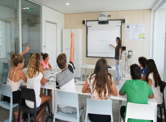 マルタ キャンプ授業